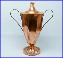 1800s Copper Hot Water Urn Wine Cistern Neo Classical Antique English Regency