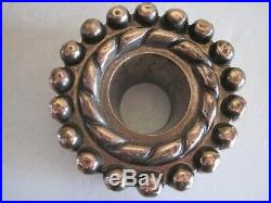 ANTIQUE VICTORIAN COPPER JELLY MOULD WITH PIPE RING & BRYMER, CORNHILL No. 15