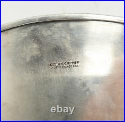 Antique English Sheffield Silver Plate on Copper Serving Tray Plateau Gallery