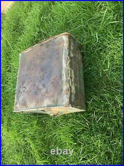 Victorian 1840s Solid Copper Cistern Tank From Stately Home