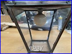 Victorian Style Copper Street Lamp