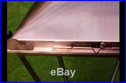 Victorian large Copper Colour Stainless Steel Replacement Lantern Lamp Post Top